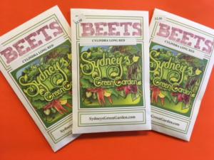 Sydney's Green Garden seeds